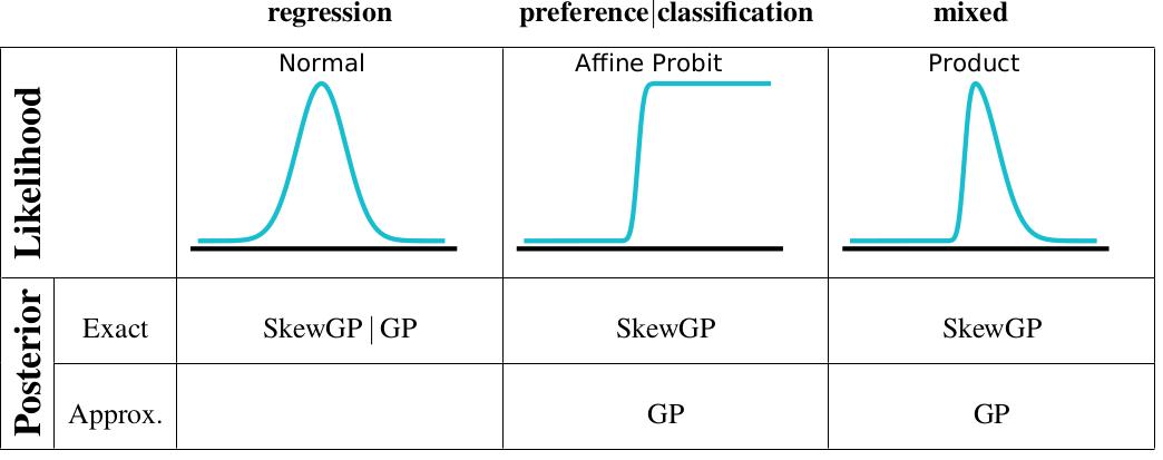 Skew Gaussian Processes
